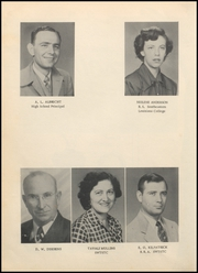 Page 16, 1953 Edition, Hallettsville High School - Brahma Yearbook (Hallettsville, TX) online yearbook collection