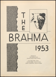 Page 7, 1953 Edition, Hallettsville High School - Brahma Yearbook (Hallettsville, TX) online yearbook collection
