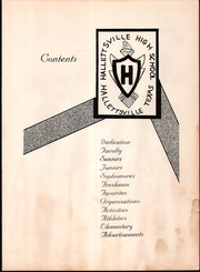 Page 7, 1955 Edition, Hallettsville High School - Brahma Yearbook (Hallettsville, TX) online yearbook collection