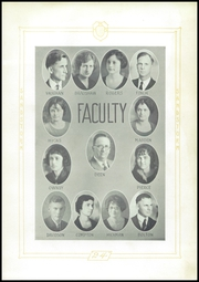 Page 9, 1924 Edition, Memphis High School - Cyclone Yearbook (Memphis, TX) online yearbook collection