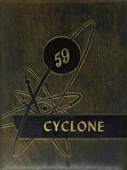 1959 Edition, Memphis High School - Cyclone Yearbook (Memphis, TX)