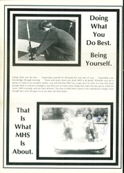 Page 6, 1981 Edition, Memphis High School - Cyclone Yearbook (Memphis, TX) online yearbook collection
