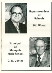 Page 12, 1982 Edition, Memphis High School - Cyclone Yearbook (Memphis, TX) online yearbook collection