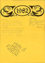 Page 3, 1982 Edition, Memphis High School - Cyclone Yearbook (Memphis, TX) online yearbook collection