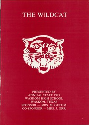 Page 5, 1973 Edition, Waskom High School - Wildcat Yearbook (Waskom, TX) online yearbook collection