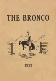 Page 1, 1933 Edition, Stephen F Austin High School - Bronco Yearbook (Bryan, TX) online yearbook collection