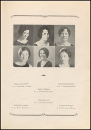 Page 11, 1933 Edition, Stephen F Austin High School - Bronco Yearbook (Bryan, TX) online yearbook collection