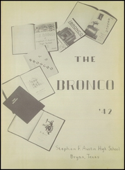 Page 5, 1942 Edition, Stephen F Austin High School - Bronco Yearbook (Bryan, TX) online yearbook collection