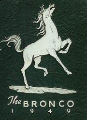 Page 1, 1949 Edition, Stephen F Austin High School - Bronco Yearbook (Bryan, TX) online yearbook collection