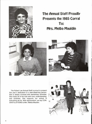 Page 10, 1985 Edition, Robert Lee High School - Corral Yearbook (Robert Lee, TX) online yearbook collection