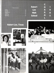 Page 5, 1985 Edition, Robert Lee High School - Corral Yearbook (Robert Lee, TX) online yearbook collection