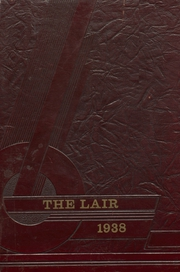 Panhandle High School - Lair Yearbook (Panhandle, TX) online yearbook collection, 1938 Edition, Page 1