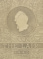 Panhandle High School - Lair Yearbook (Panhandle, TX) online yearbook collection, 1940 Edition, Page 1