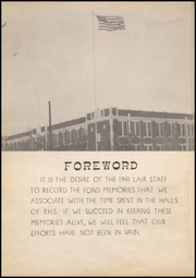 Page 6, 1941 Edition, Panhandle High School - Lair Yearbook (Panhandle, TX) online yearbook collection