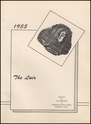 Page 5, 1955 Edition, Panhandle High School - Lair Yearbook (Panhandle, TX) online yearbook collection
