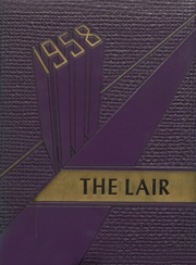 1958 Edition, Panhandle High School - Lair Yearbook (Panhandle, TX)