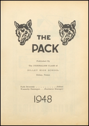 Page 7, 1948 Edition, Dilley High School - Wolf Den Yearbook (Dilley, TX) online yearbook collection