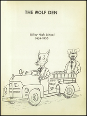 Page 5, 1955 Edition, Dilley High School - Wolf Den Yearbook (Dilley, TX) online yearbook collection