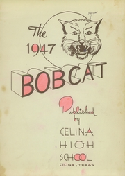 Page 5, 1947 Edition, Celina High School - Bobcat Yearbook (Celina, TX) online yearbook collection