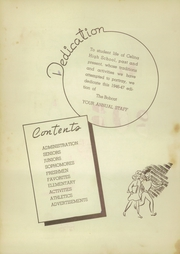 Page 6, 1947 Edition, Celina High School - Bobcat Yearbook (Celina, TX) online yearbook collection