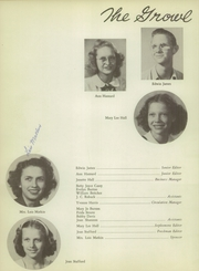 Page 10, 1950 Edition, Three Rivers High School - Growl Yearbook (Three Rivers, TX) online yearbook collection