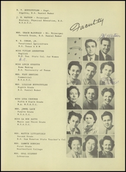 Page 15, 1946 Edition, Millsap High School - Bulldog Yearbook (Millsap, TX) online yearbook collection