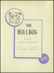 Page 7, 1946 Edition, Millsap High School - Bulldog Yearbook (Millsap, TX) online yearbook collection
