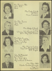 Page 10, 1945 Edition, Ralls High School - Jackrabbit Yearbook (Ralls, TX) online yearbook collection