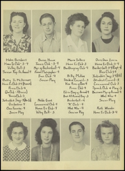 Page 13, 1945 Edition, Ralls High School - Jackrabbit Yearbook (Ralls, TX) online yearbook collection
