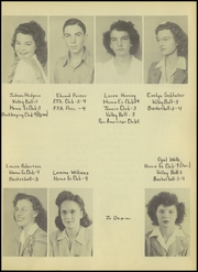 Page 15, 1945 Edition, Ralls High School - Jackrabbit Yearbook (Ralls, TX) online yearbook collection