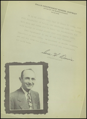 Page 8, 1949 Edition, Ralls High School - Jackrabbit Yearbook (Ralls, TX) online yearbook collection