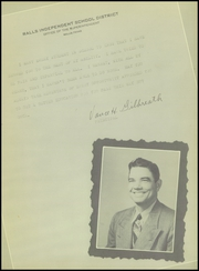 Page 9, 1949 Edition, Ralls High School - Jackrabbit Yearbook (Ralls, TX) online yearbook collection