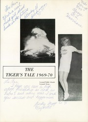 Page 5, 1970 Edition, Leonard High School - Tigers Tale Yearbook (Leonard, TX) online yearbook collection