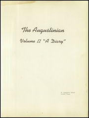 Page 5, 1954 Edition, St Augustine School - Augustinian Yearbook (Laredo, TX) online yearbook collection