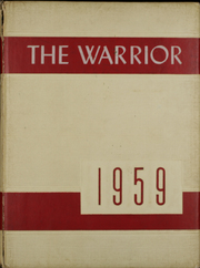 1959 Edition, Jim Ned High School - Warrior Yearbook (Tuscola, TX)