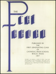 Page 5, 1957 Edition, Reicher Catholic High School - Chi Roan Yearbook (Waco, TX) online yearbook collection
