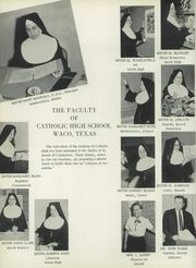 Page 10, 1958 Edition, Reicher Catholic High School - Chi Roan Yearbook (Waco, TX) online yearbook collection