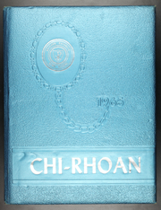 1965 Edition, Reicher Catholic High School - Chi Roan Yearbook (Waco, TX)