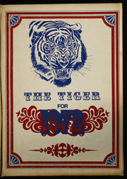 1972 Edition, Tidehaven High School - Tiger Yearbook (El Maton, TX)