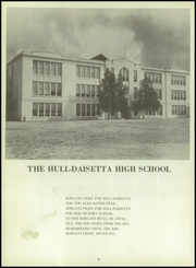 Page 12, 1958 Edition, Hull Daisetta High School - Bobcat Yearbook (Daisetta, TX) online yearbook collection