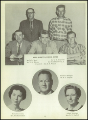 Page 16, 1958 Edition, Hull Daisetta High School - Bobcat Yearbook (Daisetta, TX) online yearbook collection