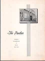 Page 7, 1953 Edition, Bells High School - Panther Yearbook (Bells, TX) online yearbook collection