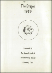 Page 7, 1959 Edition, Redwater High School - Dragon Yearbook (Redwater, TX) online yearbook collection