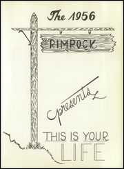 Page 7, 1956 Edition, Iraan High School - Rimrock Yearbook (Iraan, TX) online yearbook collection