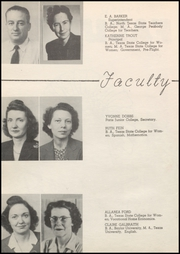 Page 12, 1947 Edition, Honey Grove High School - Tom Tom Yearbook (Honey Grove, TX) online yearbook collection