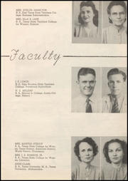 Page 13, 1947 Edition, Honey Grove High School - Tom Tom Yearbook (Honey Grove, TX) online yearbook collection