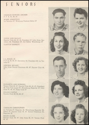 Page 17, 1947 Edition, Honey Grove High School - Tom Tom Yearbook (Honey Grove, TX) online yearbook collection