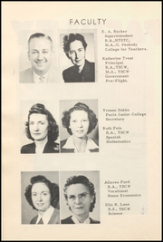 Page 12, 1948 Edition, Honey Grove High School - Tom Tom Yearbook (Honey Grove, TX) online yearbook collection