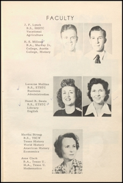 Page 13, 1948 Edition, Honey Grove High School - Tom Tom Yearbook (Honey Grove, TX) online yearbook collection