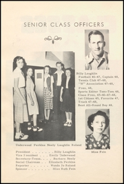 Page 16, 1948 Edition, Honey Grove High School - Tom Tom Yearbook (Honey Grove, TX) online yearbook collection